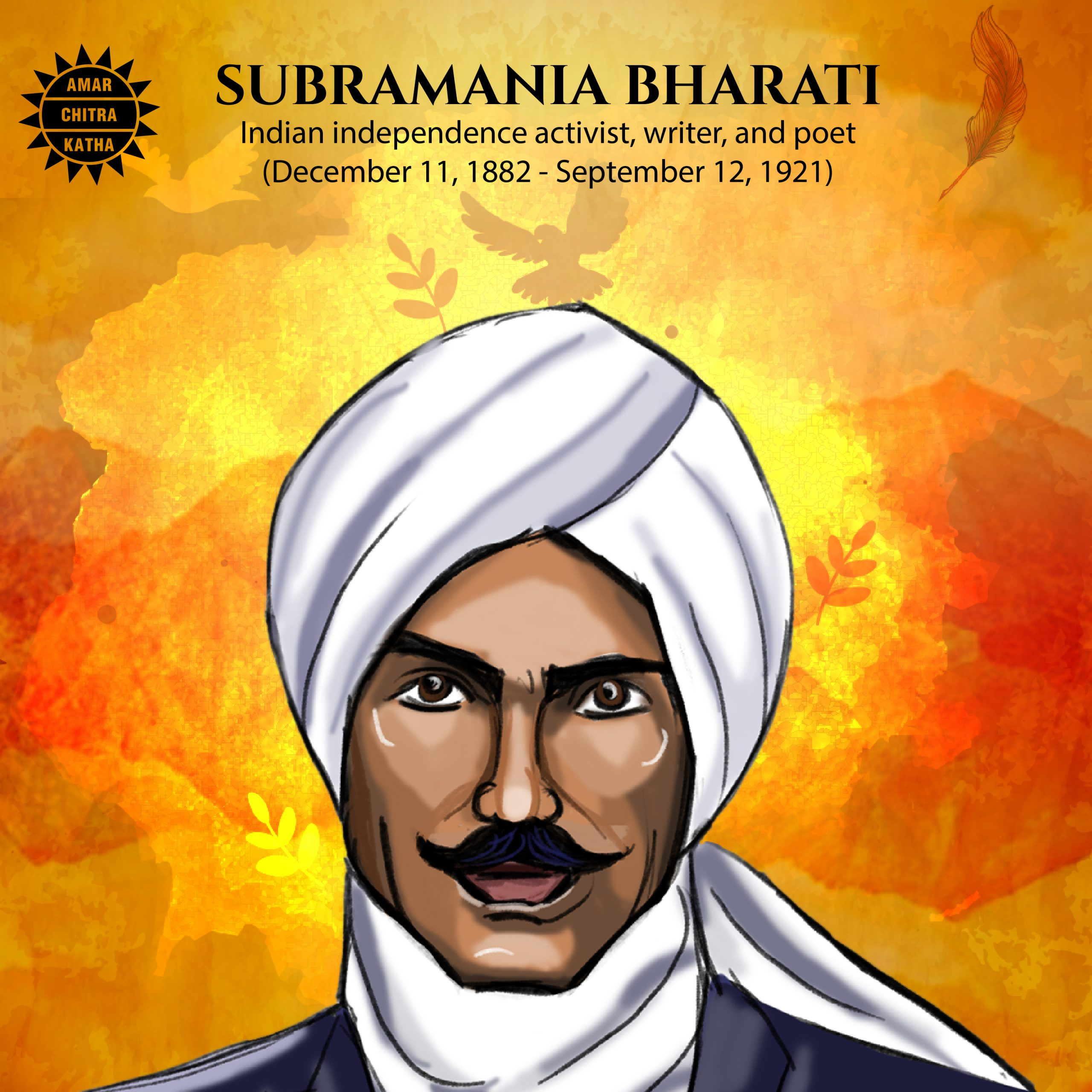Subramania BharatiIndia's Freedom Fighter Poet