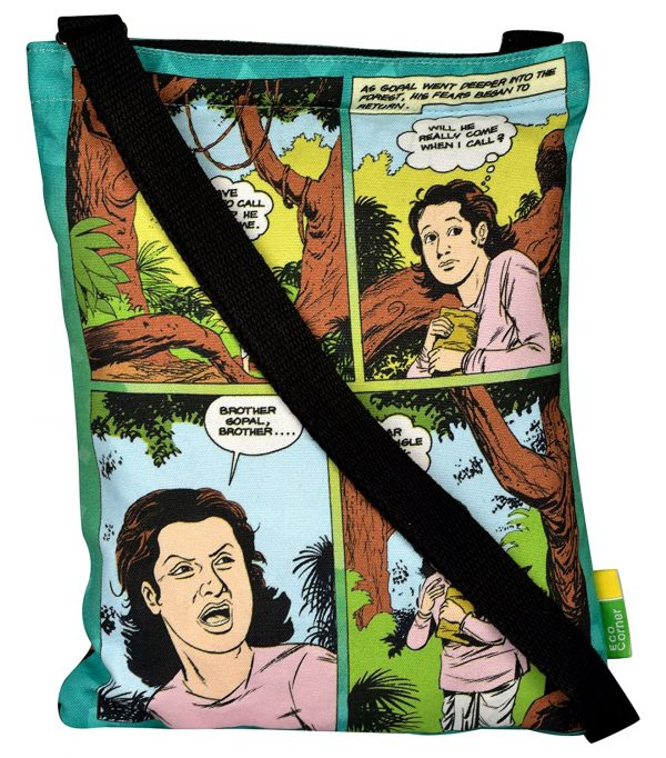 ACK Krishna with Cowherd Sling Bag