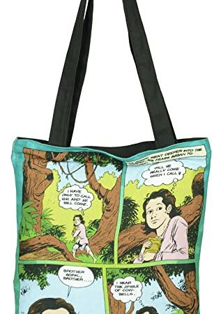ACK Krishna with Cowherd Tote Bag