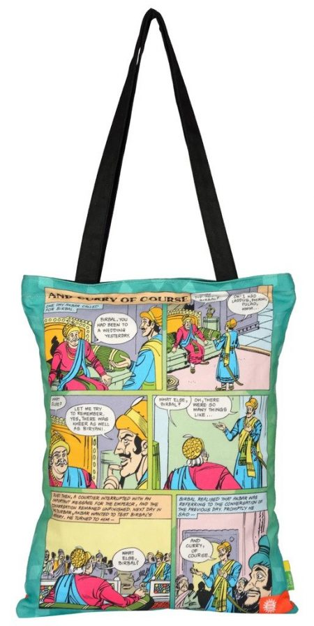 ACK Birbal & Curry of Course Tote Bag