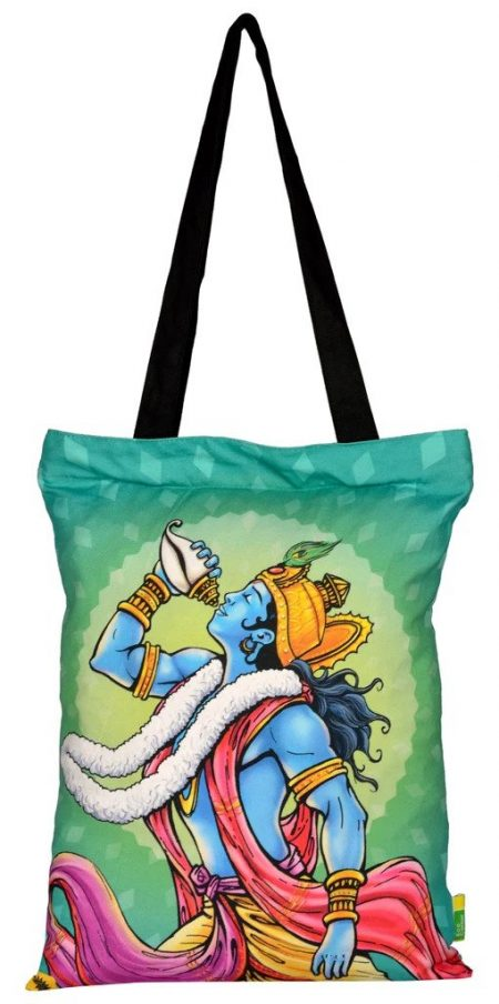 ACK Krishna Conch Tote Bag