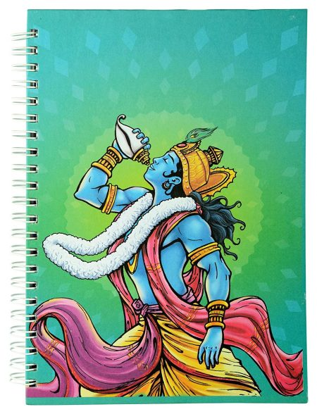 Krishna Conch Wiro Exercise Book