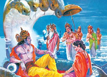 The Many Forms Of Vishnu