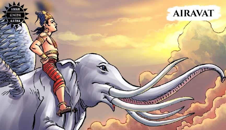Airavat one of the ratnas of samudra manthan