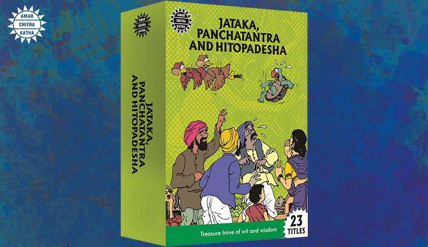 Jataka, Panchatantra and Hitopadesha Collection Best Selling Books of Amar Chitra Katha