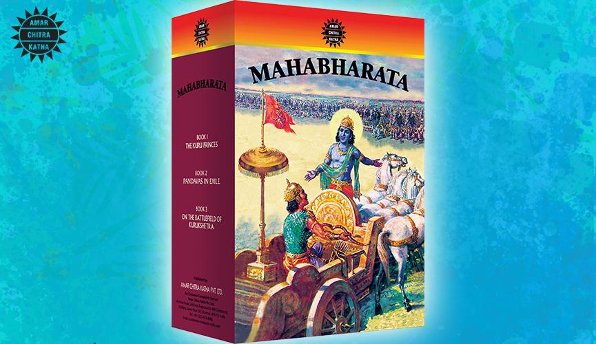 Mahabharata Vol. 3 Set Best Selling books of Amar Chitra Katha