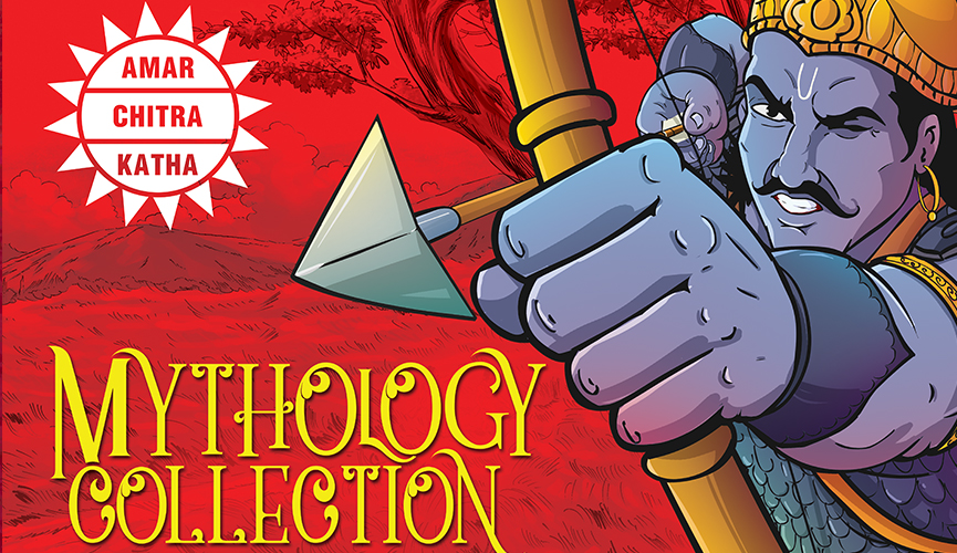 The Complete Mythology Collection best selling books of Amar Chitra Katha