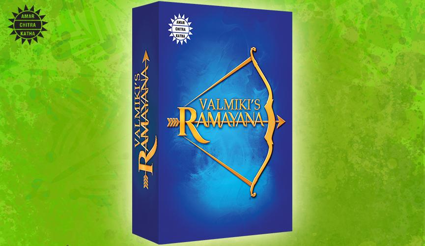 Valmiki's Ramayana 6 Vol. Set Best Selling Books of Amar Chitra Katha